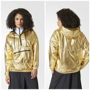 Adidas Originals Gold Fontanka Windbreaker Jacket
